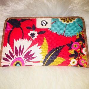 Handbags - Spartina Floral Wallet